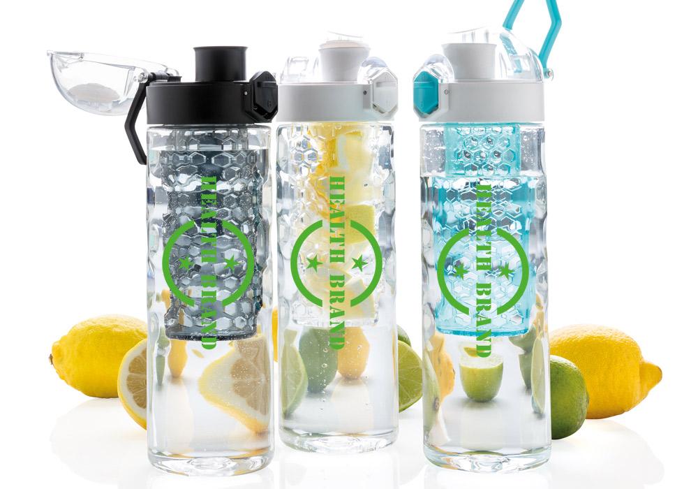 Custom branded water infuser bottle